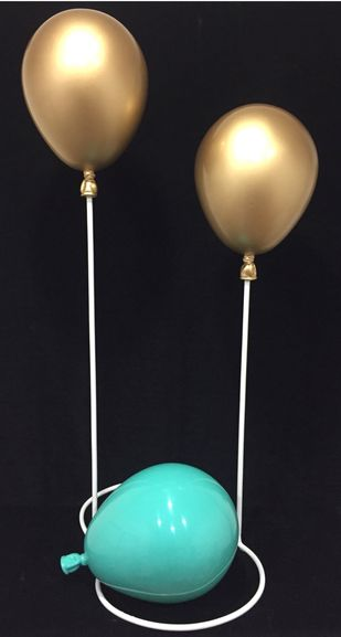 Balloons(11) by Vernika , Abstract Sculpture | 3D, Fiber Glass, Gray color