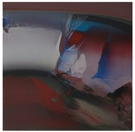 32-songs of water by Anand Mali , Abstract Painting, Acrylic on Canvas, Brown color