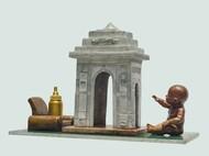INNOCENCE DEMAND by Pappu Debnath, Art Deco Sculpture | 3D, Mixed Media, Cyan color