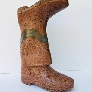 INNOCENCE DEMAND by Pritam Saha, Art Deco Sculpture | 3D, Mixed Media, Gray color