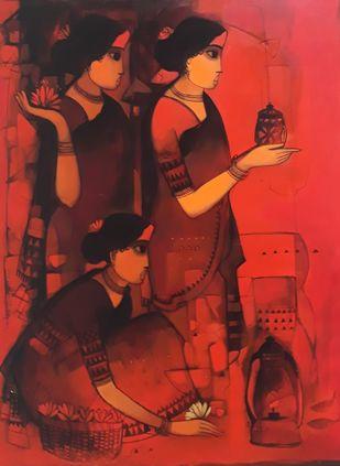 untitled Digital Print by Sachin Sagare,Expressionism