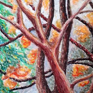 Branches Digital Print by Shalini Sinha,Impressionism