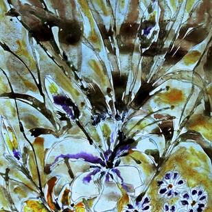organic blooms Digital Print by Baljit Singh Chadha,Impressionism