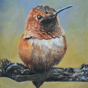 A Bird on a Branch Digital Print by John Bosco Mary,Realism