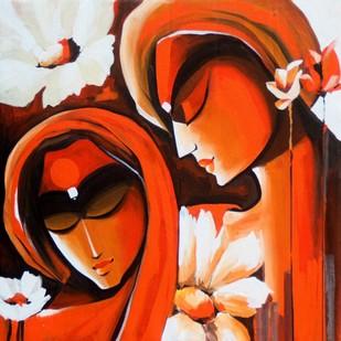 Loving Couples2 Digital Print by pradeesh k raman,Decorative