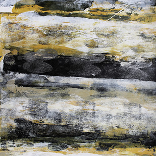 stellar memories 23 by V .Hariraam , Abstract Painting, Acrylic & Ink on Paper, Gray color