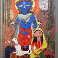 Ashok roy  acrylic on canvas  2014 30x24 inches mcp3013  45000