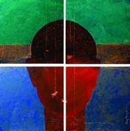 Flying Phase Digital Print by Manoj Mauryaa,Expressionism