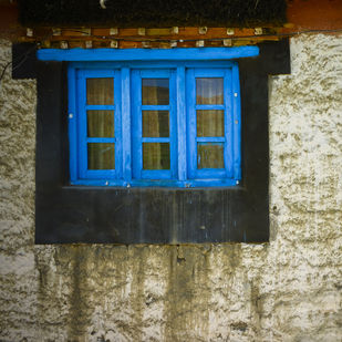 The Window by Aditya Mendiratta, Image Photography, Acrylic, Photograph Printed on Archival paper, Beige color