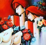 Peaceful Love Digital Print by pradeesh k raman,Decorative