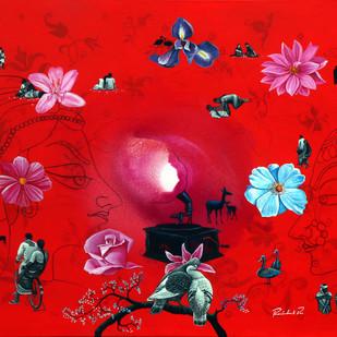 dream world Digital Print by rawindra kumar das,Fantasy