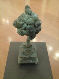 Untitled by Nandkumar Yashwant Kulaye, Art Deco Sculpture   3D, Bronze, Beige color