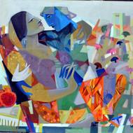 Swing 3 acrylic on canvas   44 x 54 inch 2018 copy
