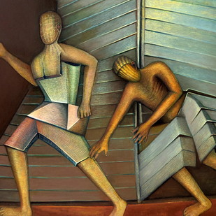 Dichotomy Digital Print by Niku Guleria,Impressionism