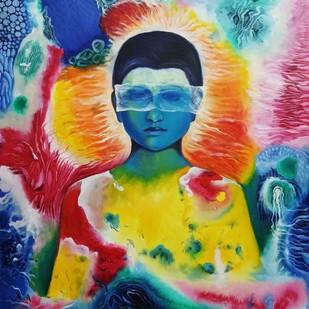 My Imagination 1 Digital Print by rajendra ray,Expressionism