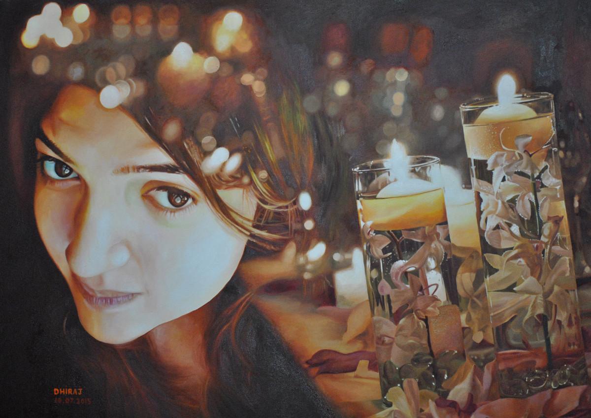 Life Digital Print by Dhiraj Khandelwal,Expressionism