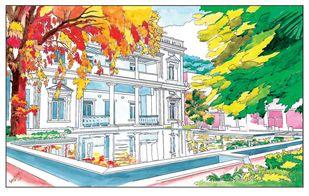 Gallery of Modern Art, Bangalore Digital Print by Parag Karve,Impressionism