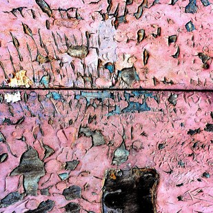 Time Warp by M. Shafiq, Image Photography, Digital Print on Archival Paper, Pink color