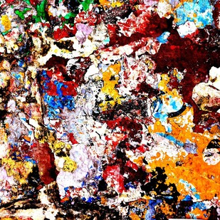 Color Abstract # 2 by M. Shafiq, Image Photography, Digital Print on Archival Paper, Brown color