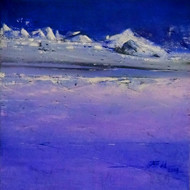 Dreamland-1 by Dnyaneshwar Dhavale , Abstract Painting, Acrylic on Canvas, Blue color