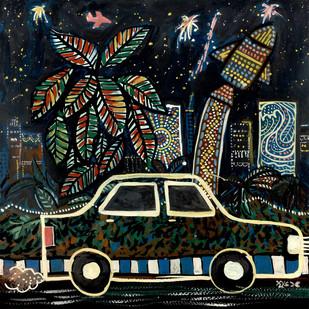 Festive Mood Digital Print by Shubharanjan Paul,Expressionism