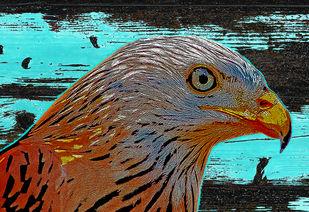 Untitled by Mayurakshi, Digital Digital Art, Giclee Print on Hahnemuhle Paper, Brown color