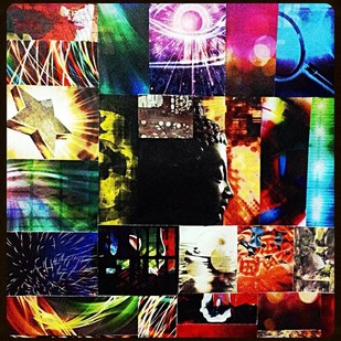 Light by Shruti Vij, Digital Digital Art, Digital Print on Paper, Brown color