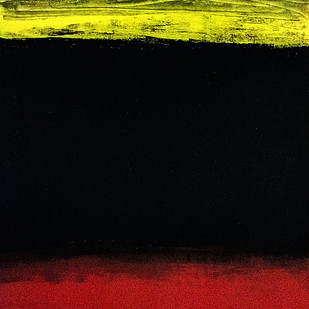 FROM STELLAR MEMORY 18 by V .Hariraam , Abstract Painting, Acrylic on Paper, Black color