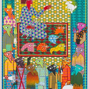Who is she? Digital Print by pranav sood,Expressionism