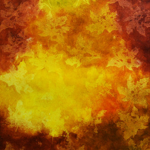 Autumn by Mudit Rastogi, Abstract Painting, Oil on Canvas, Brown color
