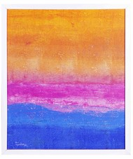 Untitle by tajinder pal singh, Abstract Painting, Acrylic on Canvas, Blue color