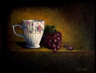FRUIT'N'CUP Digital Print by SWATI GHOSH,Impressionism