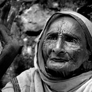 Thousand Stories Unfold by Ravindra Kumar Tanwar, Image Photography, Digital Print on Archival Paper, Gray color