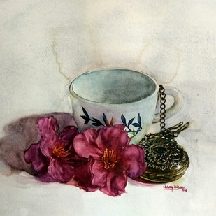 Cup Digital Print by Uday Bhan,Realism