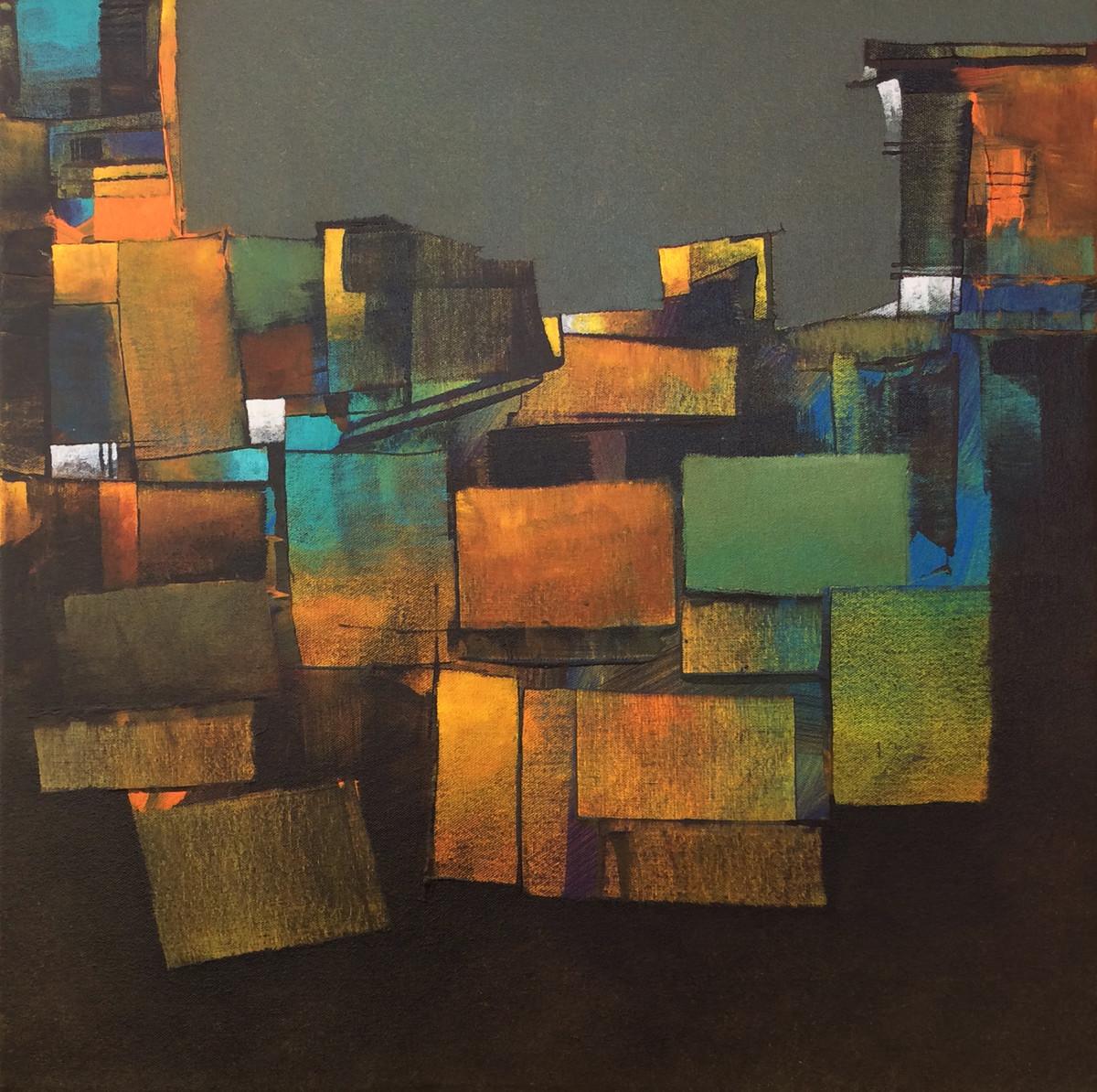 Gray morning Digital Print by sharath kumar ,Abstract