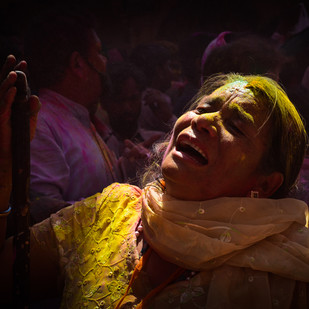 Pookar - A Cry by Ravindra Kumar Tanwar, Image Photography, Digital Print on Archival Paper, Brown color