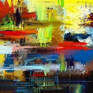Abstract - 02 Digital Print by The Print Studio,Abstract