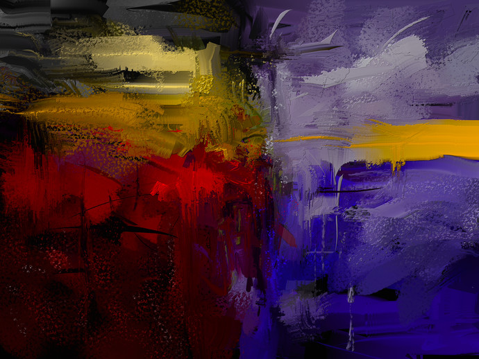 Abstract - 28 Digital Print by The Print Studio,Abstract