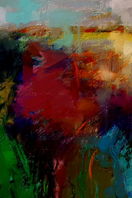 Abstract - 35 Digital Print by The Print Studio,Abstract