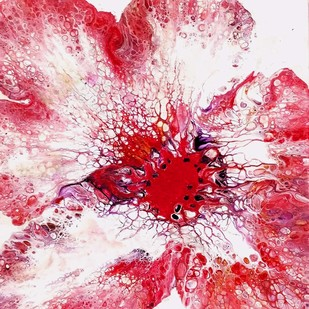 BLOOM 15 Digital Print by kakali sanyal,Abstract