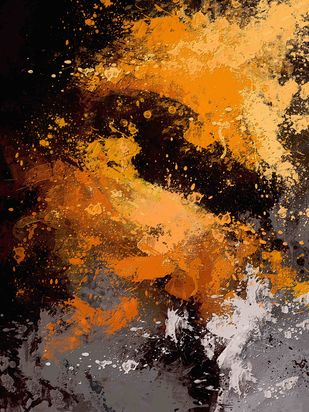 Abstract 57 Digital Print by The Print Studio,Abstract