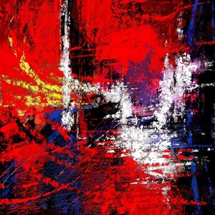Abstract 61 Digital Print by The Print Studio,Abstract
