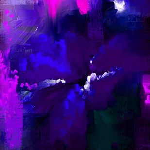 Abstract 62 Digital Print by The Print Studio,Abstract