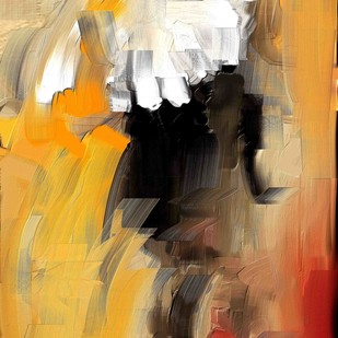 Abstract 75 Digital Print by The Print Studio,Abstract