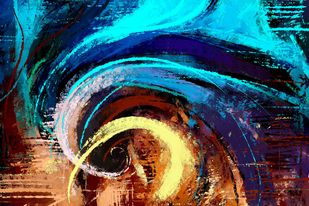 Abstract 76 Digital Print by The Print Studio,Abstract