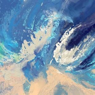 Aquatic Digital Print by The Print Studio,Abstract