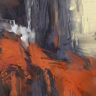 Abstract - 117 Digital Print by The Print Studio,Abstract