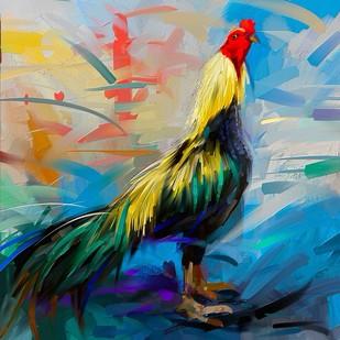 Rooster - 14 Digital Print by The Print Studio,Digital