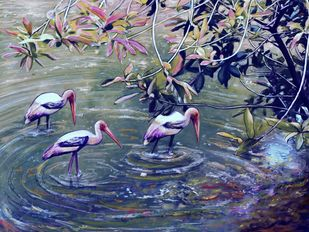 Backwaters Digital Print by The Print Studio,Digital