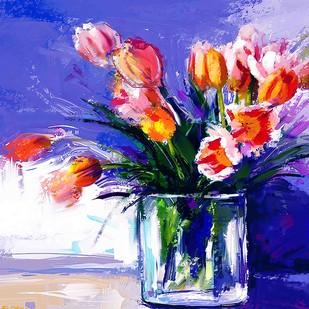 Flowers - 12 Digital Print by The Print Studio,Digital